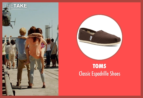 Toms brown shoes from No Escape seen with Lake Bell (Annie Dwyer)