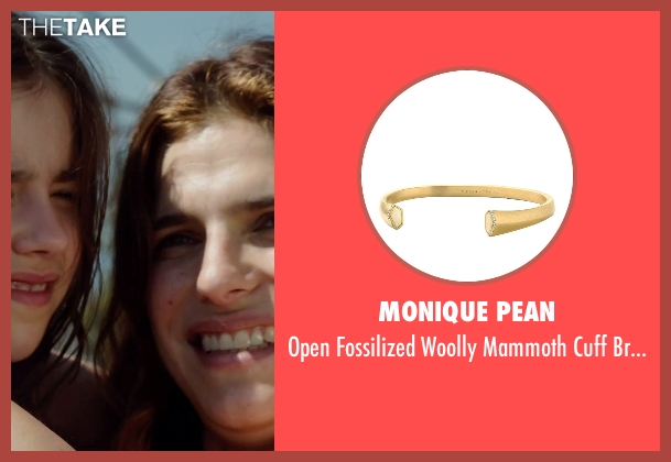 Monique Pean gold bracelet from No Escape seen with Lake Bell (Annie Dwyer)