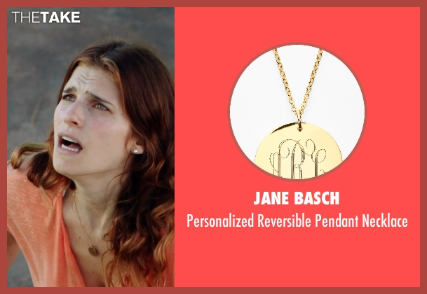 Jane Basch gold necklace from No Escape seen with Lake Bell (Annie Dwyer)