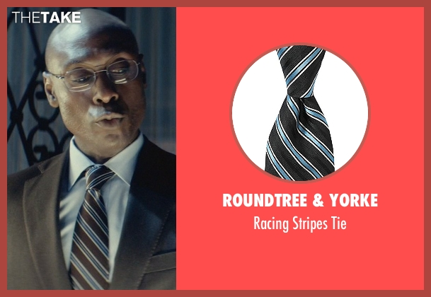 Roundtree & Yorke black tie from John Wick seen with Lance Reddick (Charon)