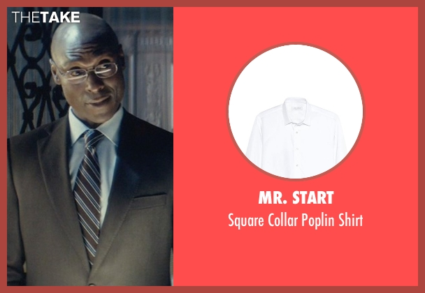 Mr. Start white shirt from John Wick seen with Lance Reddick (Charon)