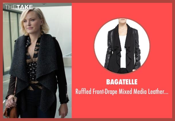 Bagatelle black jacket from Billions seen with Lara Axelrod (Malin Akerman)