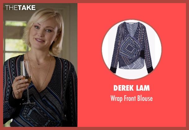 Derek Lam blouse from Billions seen with Lara Axelrod (Malin Akerman)