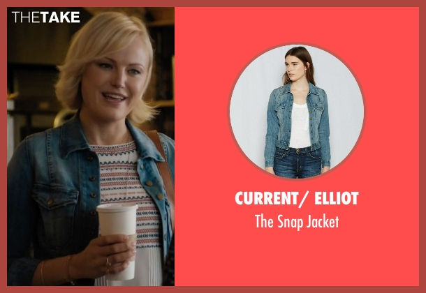 Current/ Elliot blue jacket from Billions seen with Lara Axelrod (Malin Akerman)
