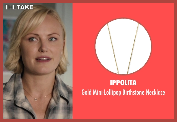 Ippolita gold necklace from Billions seen with Lara Axelrod (Malin Akerman)