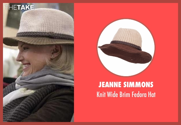 Jeanne Simmons hat from Billions seen with Lara Axelrod (Malin Akerman)