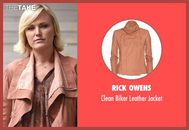 Rick Owens pink jacket from Billions seen with Lara Axelrod (Malin Akerman)