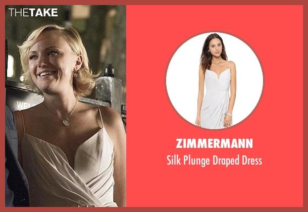 Zimmermann  white dress from Billions seen with Lara Axelrod (Malin Akerman)