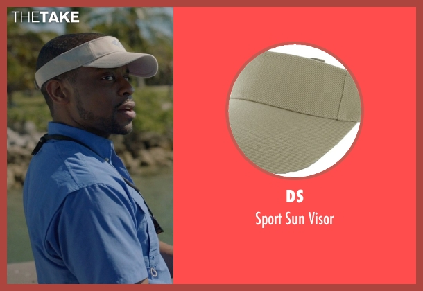 DS beige visor from Ballers seen with Larry (Dulé Hill)