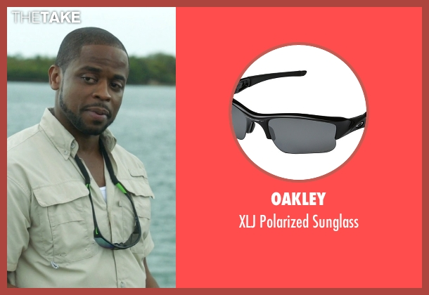 Oakley black sunglass from Ballers seen with Larry (Dulé Hill)