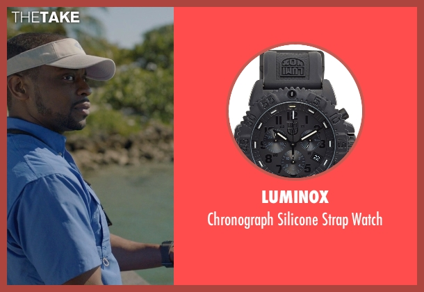 Luminox black watch from Ballers seen with Larry (Dulé Hill)