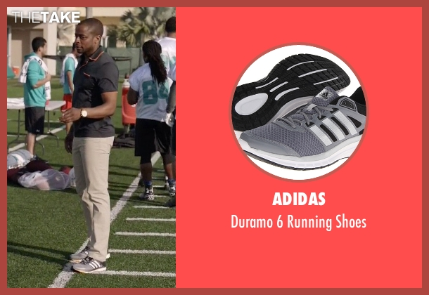 Adidas gray shoes from Ballers seen with Larry (Dulé Hill)