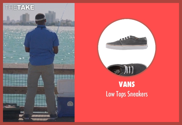 Vans gray sneakers from Ballers seen with Larry (Dulé Hill)