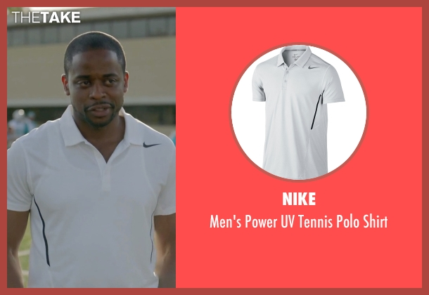 Nike white shirt from Ballers seen with Larry (Dulé Hill)