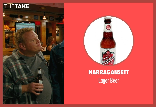 Narragansett beer from Hall Pass seen with Larry Joe Campbell (Hog-Head)