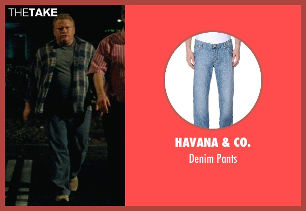 Havana & Co. blue pants from Hall Pass seen with Larry Joe Campbell (Hog-Head)