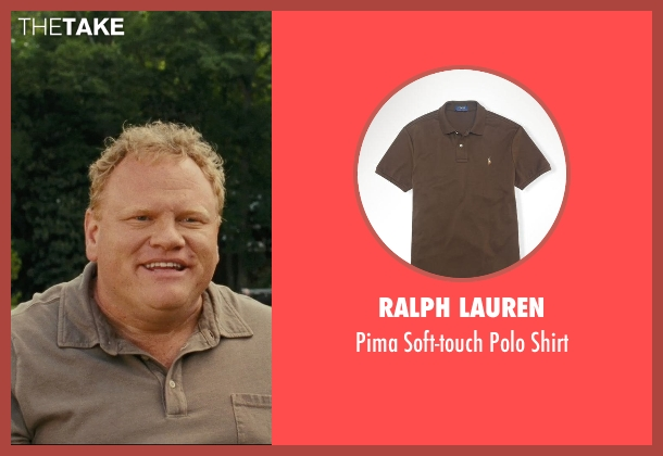Ralph Lauren brown shirt from Hall Pass seen with Larry Joe Campbell (Hog-Head)