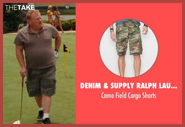 Denim & Supply Ralph Lauren green shorts from Hall Pass seen with Larry Joe Campbell (Hog-Head)