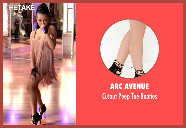 Arc Avenue black booties from Empire seen with Laura Calleros (Jamila Velazquez)
