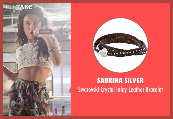 Sabrina Silver brown bracelet from Empire seen with Laura Calleros (Jamila Velazquez)
