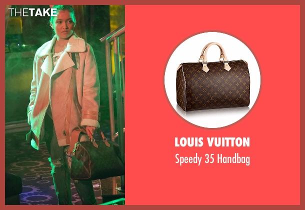 Louis Vuitton brown handbag from Empire seen with Laura Calleros (Jamila Velazquez)