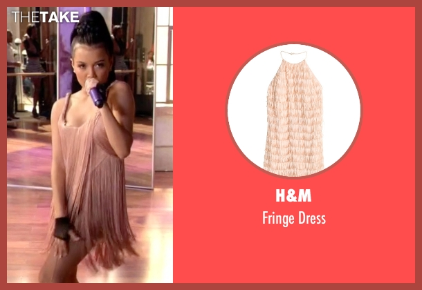 H&M pink dress from Empire seen with Laura Calleros (Jamila Velazquez)