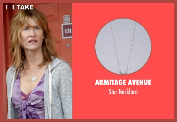 Armitage Avenue silver necklace from 99 Homes seen with Laura Dern (Lynn Nash)