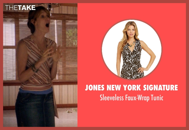 Jones New York Signature tunic from 99 Homes seen with Laura Dern (Lynn Nash)