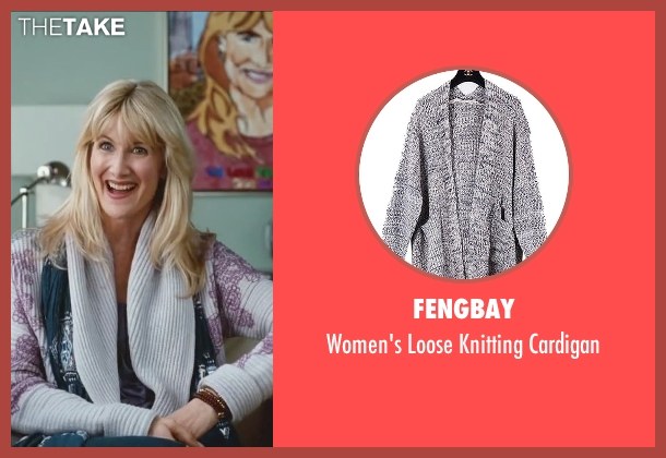 Fengbay gray cardigan from Little Fockers seen with Laura Dern (Prudence)