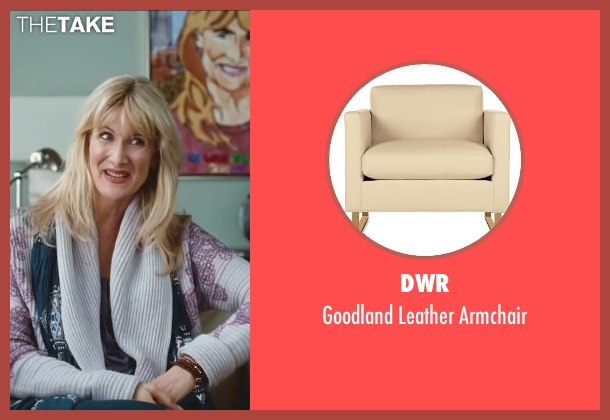 DWR white armchair from Little Fockers seen with Laura Dern (Prudence)