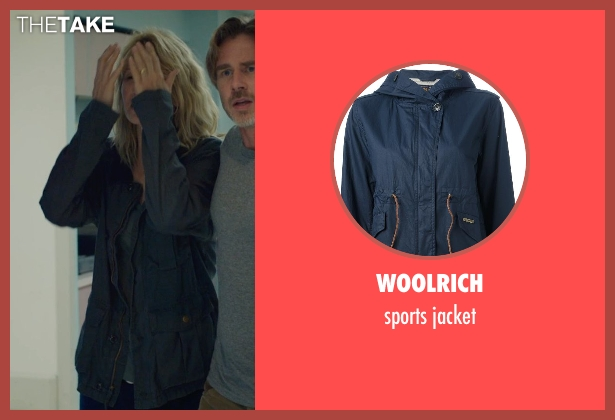 WOOLRICH blue jacket from The Fault In Our Stars seen with Laura Dern (Mrs. Lancaster)