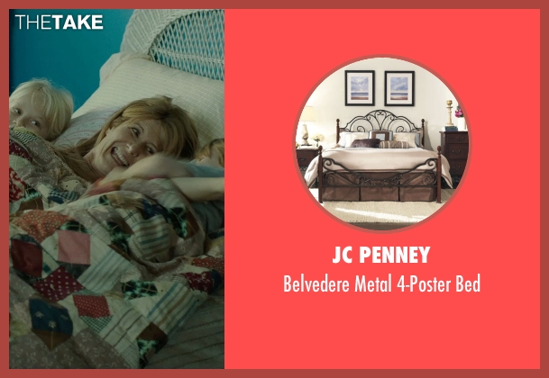 JC Penney bed from Wild seen with Laura Dern (Bobbi)