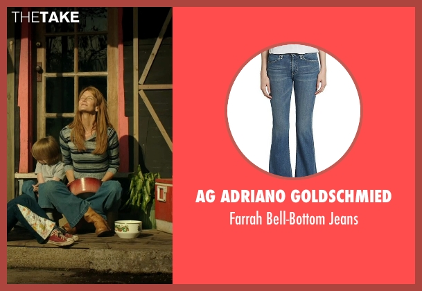 AG Adriano Goldschmied blue jeans from Wild seen with Laura Dern (Bobbi)