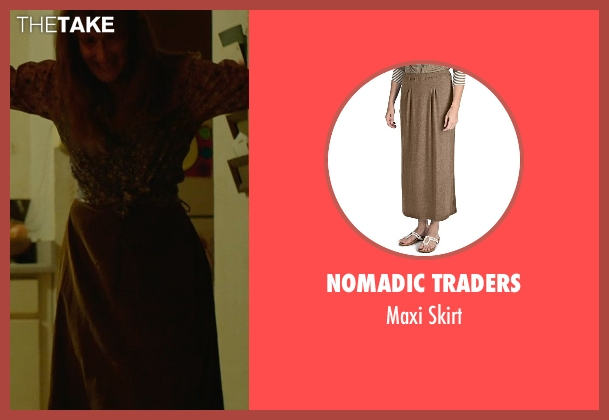 Nomadic Traders brown skirt from Wild seen with Laura Dern (Bobbi)