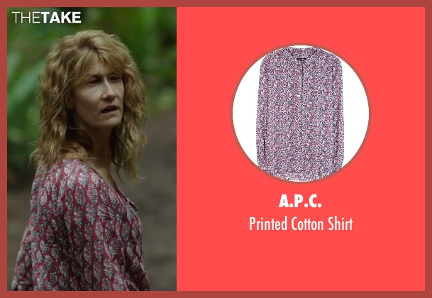 A.P.C. red shirt from Wild seen with Laura Dern (Bobbi)