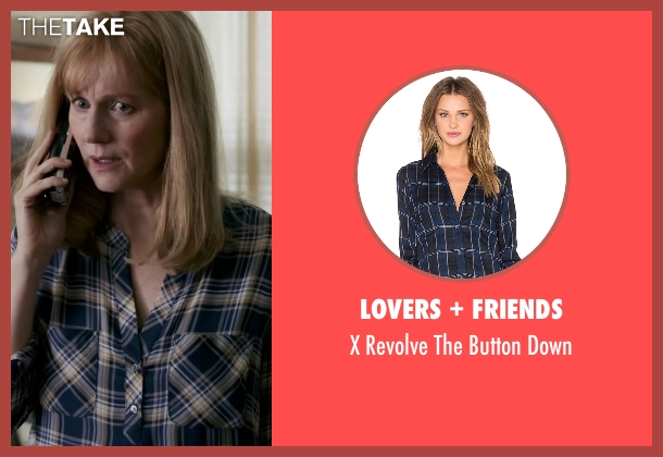 Lovers + Friends blue down from Sully seen with Laura Linney (Lorraine Sullenberger)