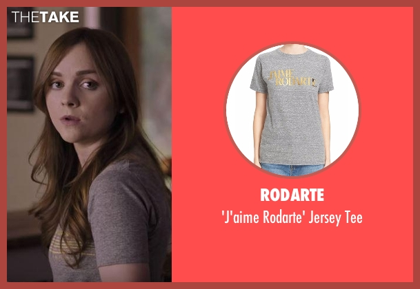 Rodarte gray tee from Casual seen with Laura Meyers (Tara Lynne Barr)