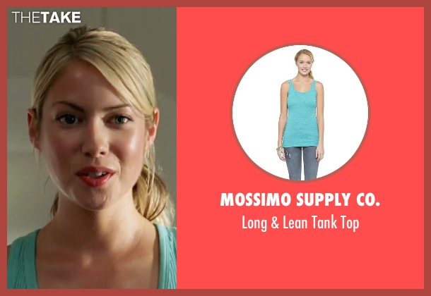 Mossimo Supply Co. blue top from She's The Man seen with Laura Ramsey (Olivia Lennox)