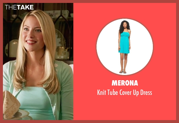 Merona green dress from She's The Man seen with Laura Ramsey (Olivia Lennox)