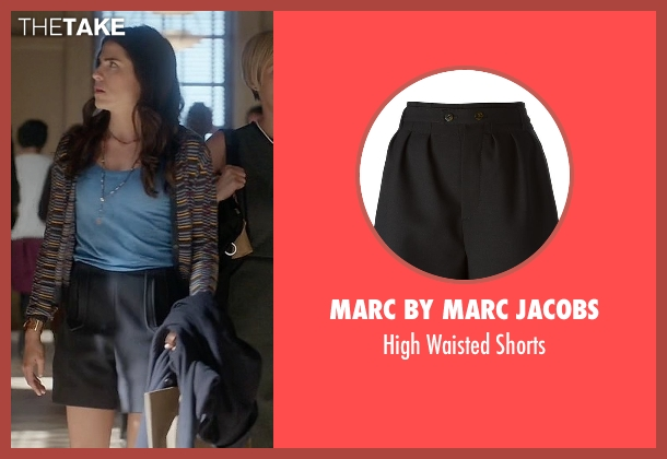 Marc By Marc Jacobs black shorts from How To Get Away With Murder seen with Laurel Castillo (Karla Souza)