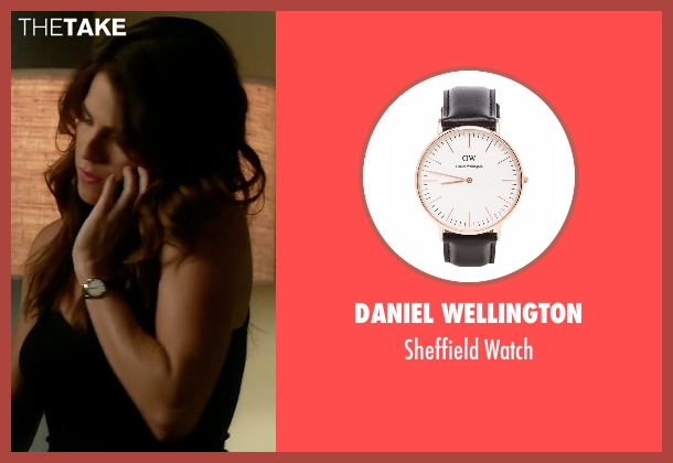 Daniel Wellington black watch from How To Get Away With Murder seen with Laurel Castillo (Karla Souza)