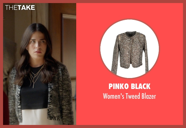 Pinko Black blazer from How To Get Away With Murder seen with Laurel Castillo (Karla Souza)