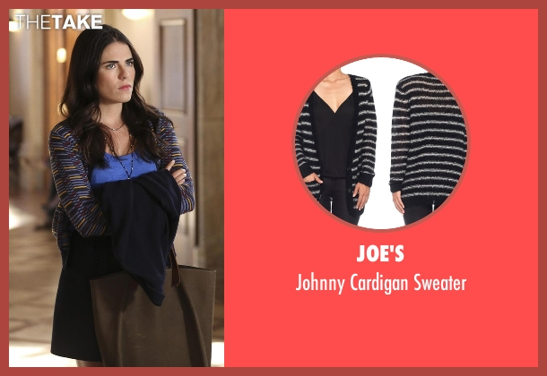 Joe's sweater from How To Get Away With Murder seen with Laurel Castillo (Karla Souza)