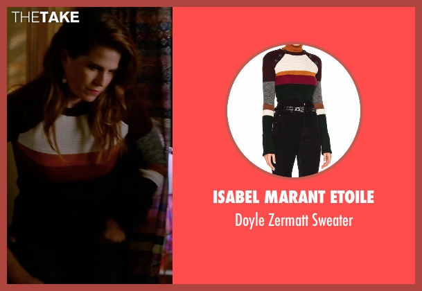 Isabel Marant Etoile sweater from How To Get Away With Murder seen with Laurel Castillo (Karla Souza)