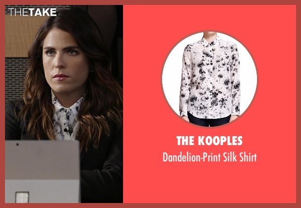 The Kooples white shirt from How To Get Away With Murder seen with Laurel Castillo (Karla Souza)
