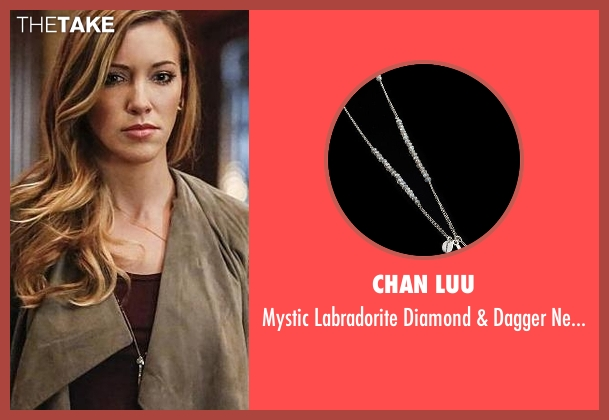 Chan Luu silver necklace from Arrow seen with Laurel Lance/Black Canary (Katie Cassidy)