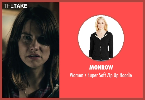 Monrow black hoodie from The Boy seen with Lauren Cohan (Greta)