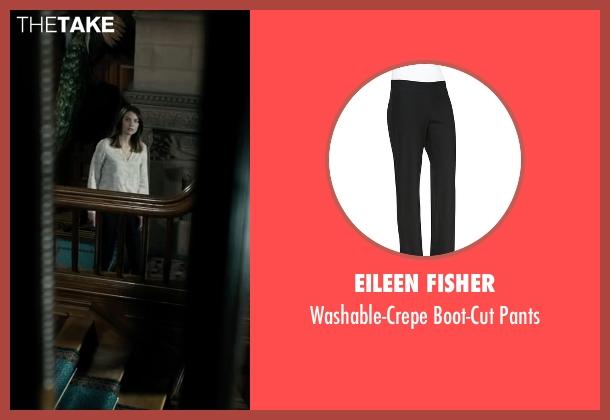 Eileen Fisher black pants from The Boy seen with Lauren Cohan (Greta)