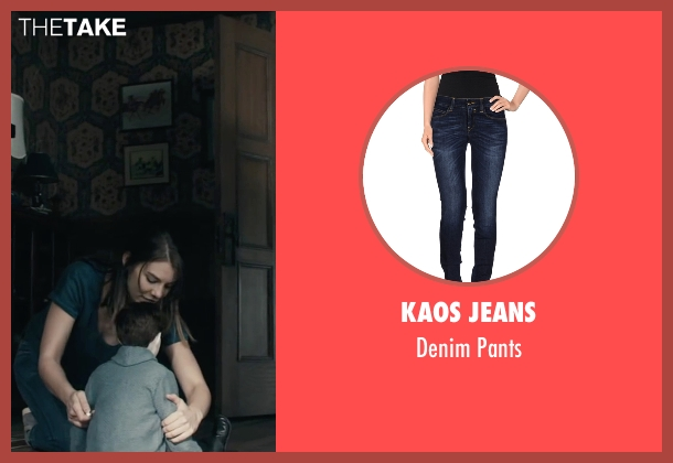 Kaos Jeans blue pants from The Boy seen with Lauren Cohan (Greta)
