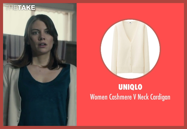 Uniqlo white cardigan from The Boy seen with Lauren Cohan (Greta)